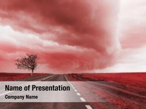 Tornado clouds