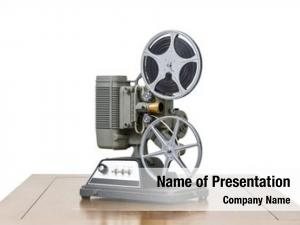 Home antique 8mm movie projector