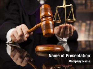 Judge judge, male courtroom striking