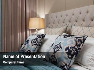 Interior luxurious bedroom