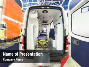 View ambulance rear