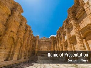 Temple of bacchus romans