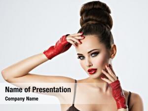 Woman beautiful sensual glamour makeup