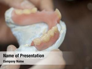 Make dental technician dental denture