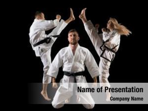 Arts three martial masters, karate,