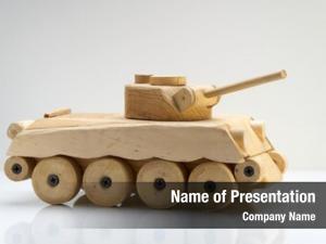 Black wood tank