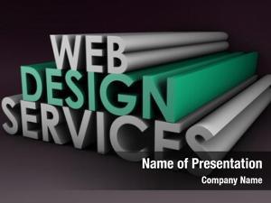 Services web design concept