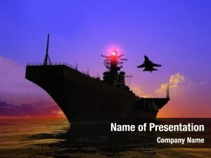 Sea military ship