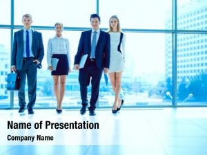 People group business doing presentation