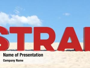 German beach concept slogan strand