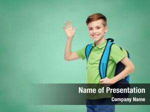 Education, childhood, school, greeting gesture