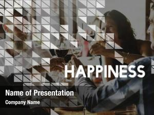 Happiness seize powerpoint background