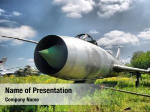 Jet abandoned soviet fighter