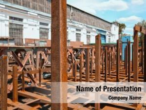 Vessels metal supports dockyard