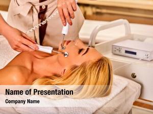 Skin electric stimulation