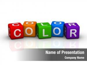 Cubes color (buzzword series)