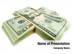 Banknotes stack dollar