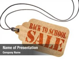 Sale back school sign