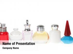 Flasks with perfume