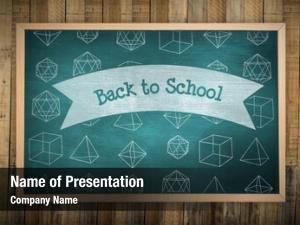Against image chalkboard back school