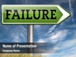 Exam failure fail road sign