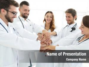 Interns group medical shows their