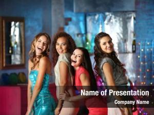 Nightclub beautiful girls