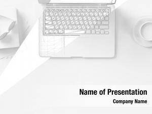 Computer white laptop keyboard cad
