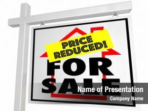 Reduced sale price home house