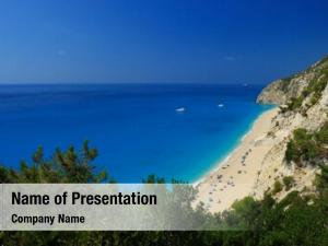 Lefkada egremni beach, island, greece