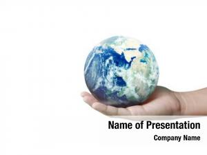 Human globe ,earth hand, holding