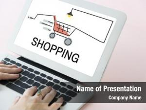 Online online shopping payment concept