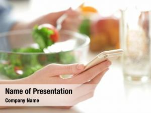 Calories powerpoint template