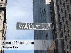 Sign; wall street manhattan, new
