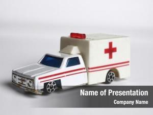 Ambulance close toy