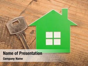 House home key key chain