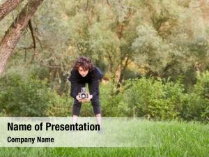 Photographer photographer landscape medium format