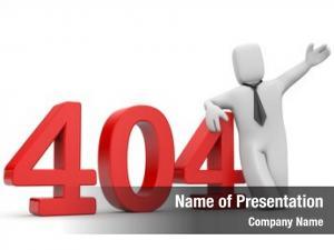 Error businessman 404