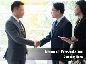 Deal handshake business business mergers