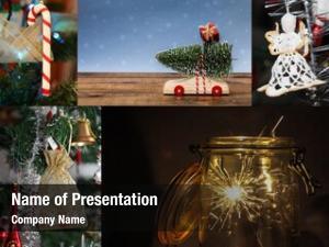 Five christmas collage christmas theme