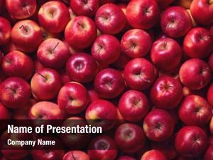 Shot full frame red apples