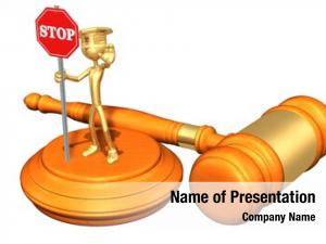Traffic court powerpoint template