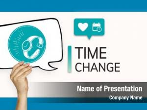 Save time powerpoint theme