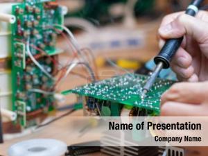 Circuit soldering electronic board electronic