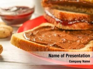 Gastronomy peanut tasty sandwiches
