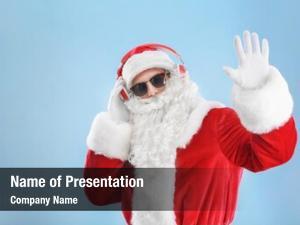 Character listening santa claus