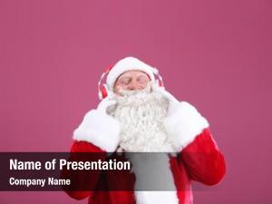 Celebrate listening santa claus