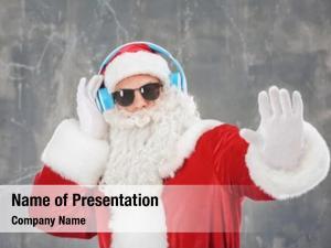 Santa claus listening santa claus
