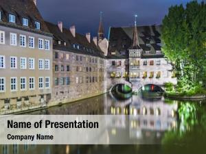 Historic nuremberg, germany hospital holy
