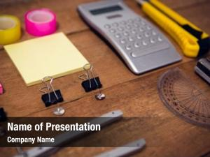 Close up of shot powerpoint template